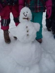 Schnee_Schneemann
